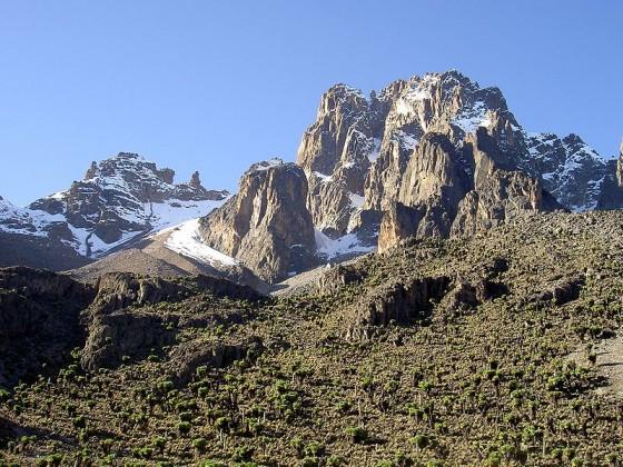 Monte Kenia. Wikipedia