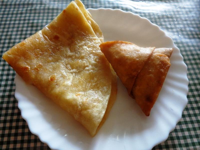 Chapati y sambusa. Por Udare