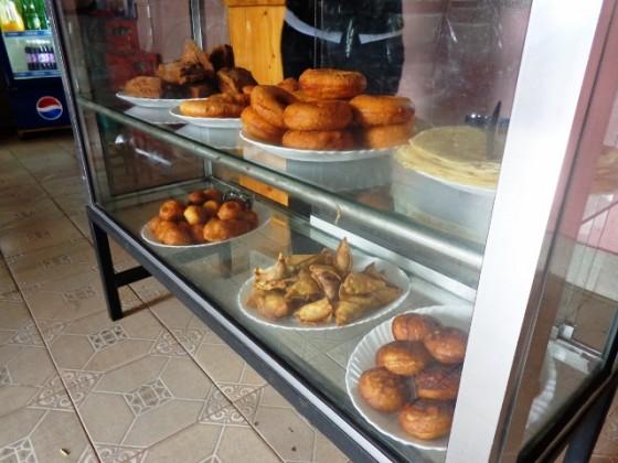 Desayuno típico tanzano