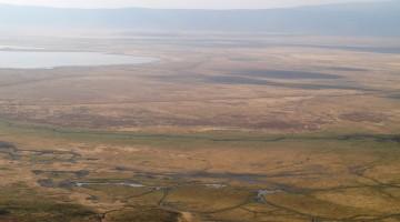 Panorámica del cráter de Ngorongoro. Por Udare