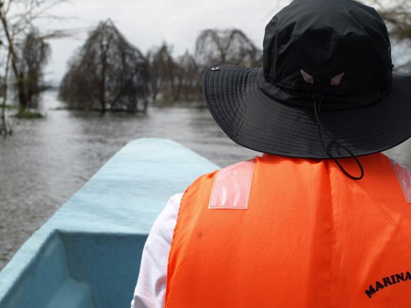 Paseo en barca en Naivasha. Por Udare