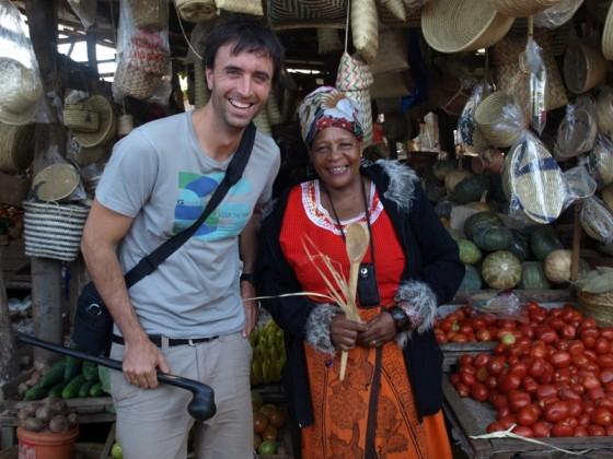 Mercado de Mtto wa mmbu. Por Udare