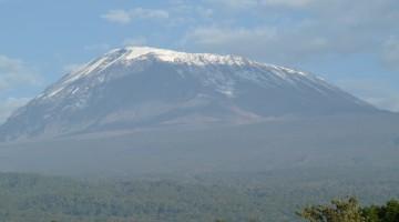 Vistas Kilimanjaro desde Kilema. Por Udare