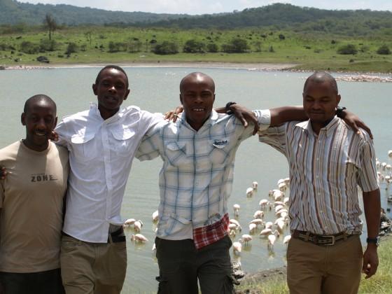 Equipo Udare Safari de Tanzania. Por Udare