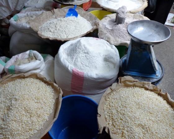 Harinas para preparar ugali. Por Udare