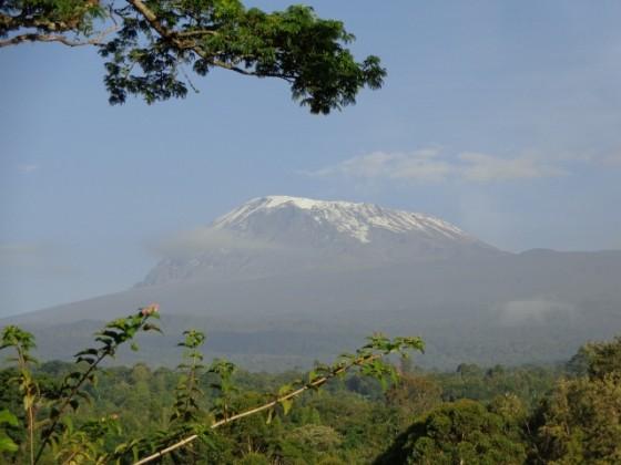 El Kilimanjaro desde Kilema. Por Udare