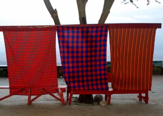 Mantos masai. Por Udare
