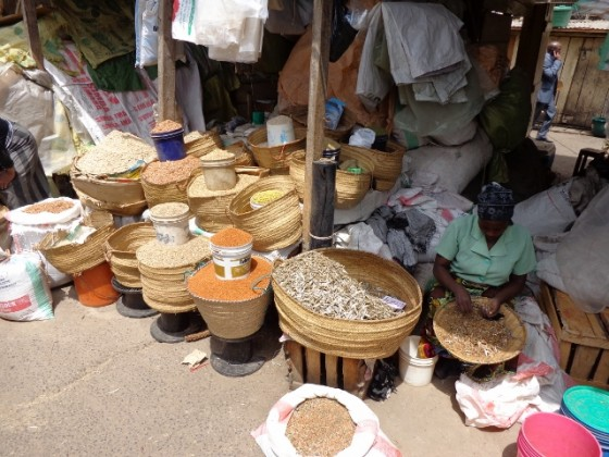 Mercado de Arusha. Por Udare