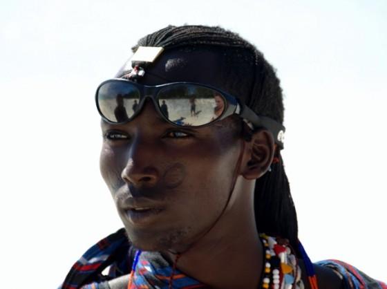 Masai en Zanzibar. Por Udare