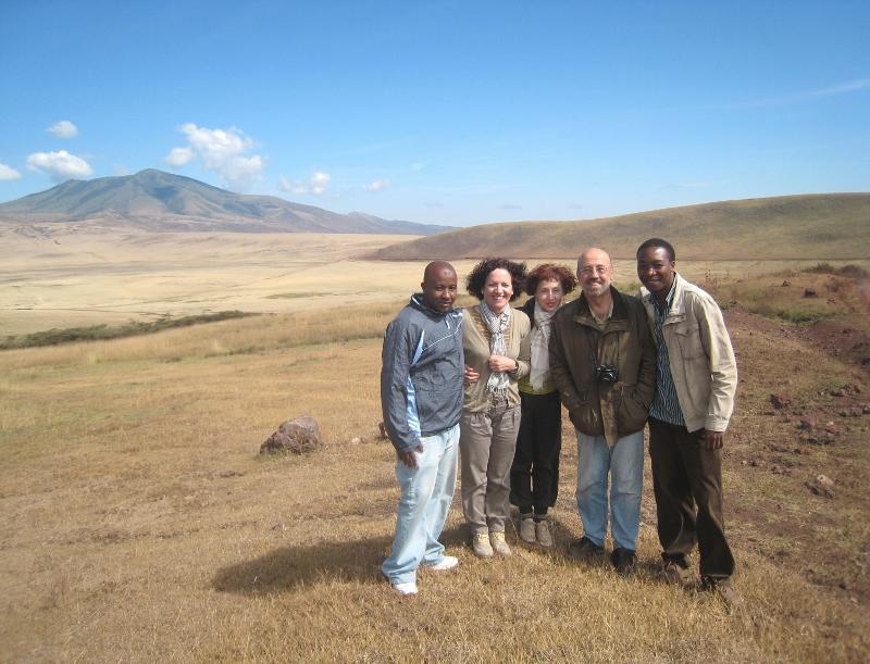 Mudy, Lucía, Sol, José y Emily. Por Sol