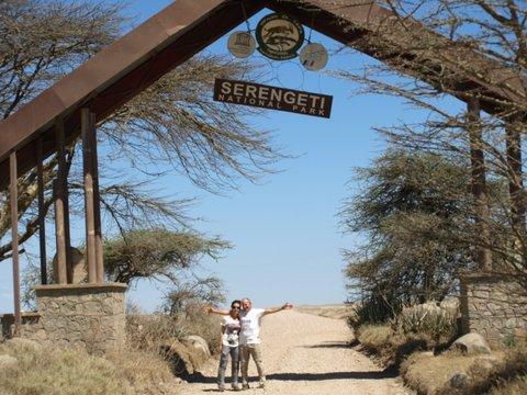Entrando a Serengeti. Por Javier P.