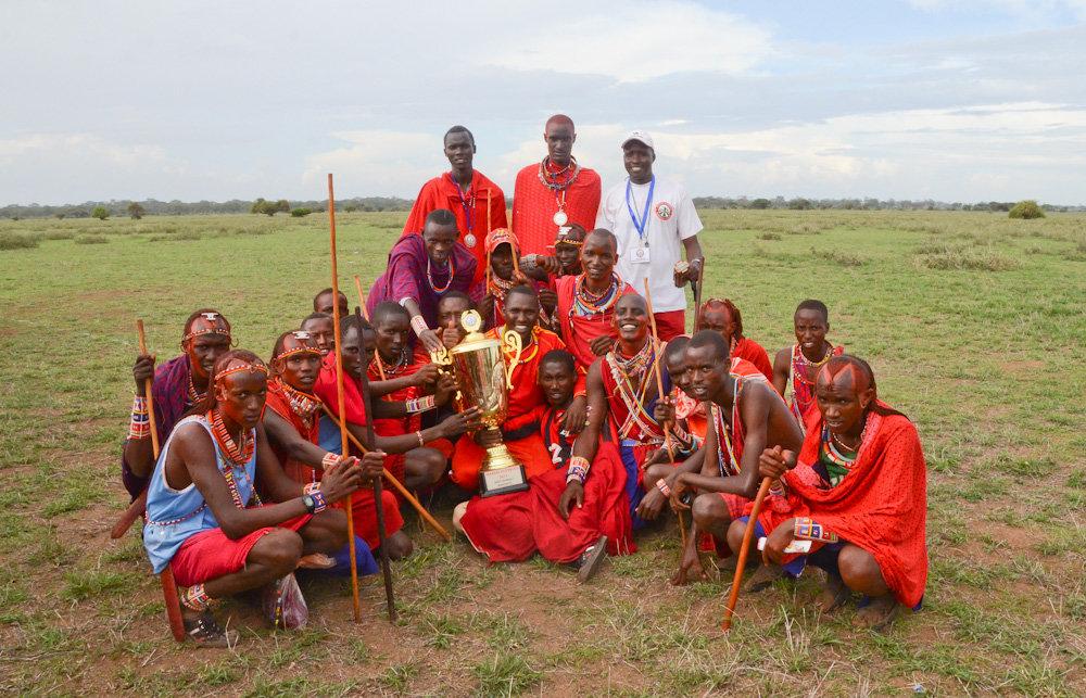 Ganadores de la 1º Olimpiada Masai