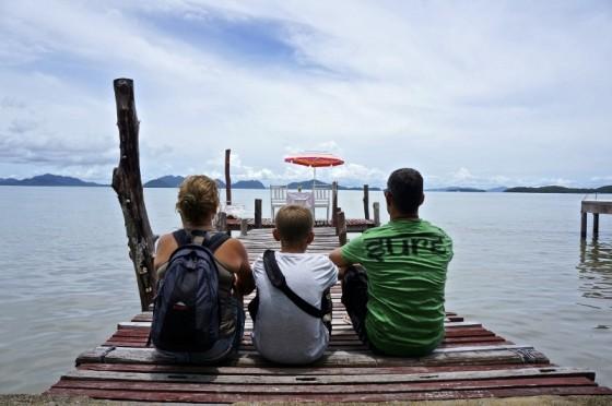 Viajando en familia. Un mundo para 3