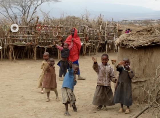 Niños masais. Por Udare