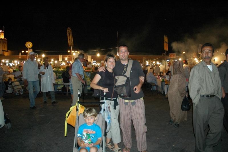 En Marrakech. Un mundo para 3