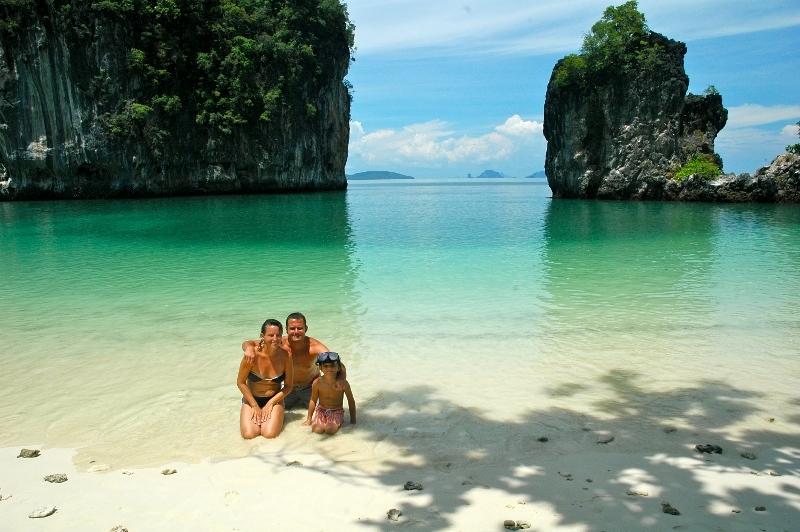 Krabi - Ko Hong (Tailandia). Un mundo para 3