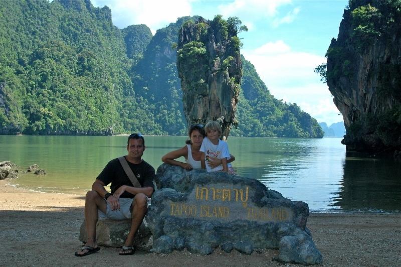 En Phang Nga - Ko Phing kan (Tailandia). Un mundo para 3