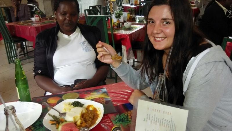 El ugali estrella en la comida típica tanzana. Por Alberto