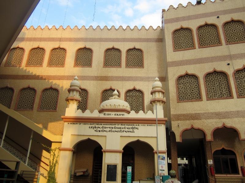 Mezquita de Dar Es Saalam. Por Pillareta