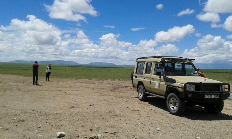 Ngorongoro en soledad. Por Colleta