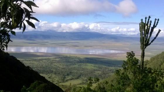 Panorámica de Ngorongoro. Por Raquel