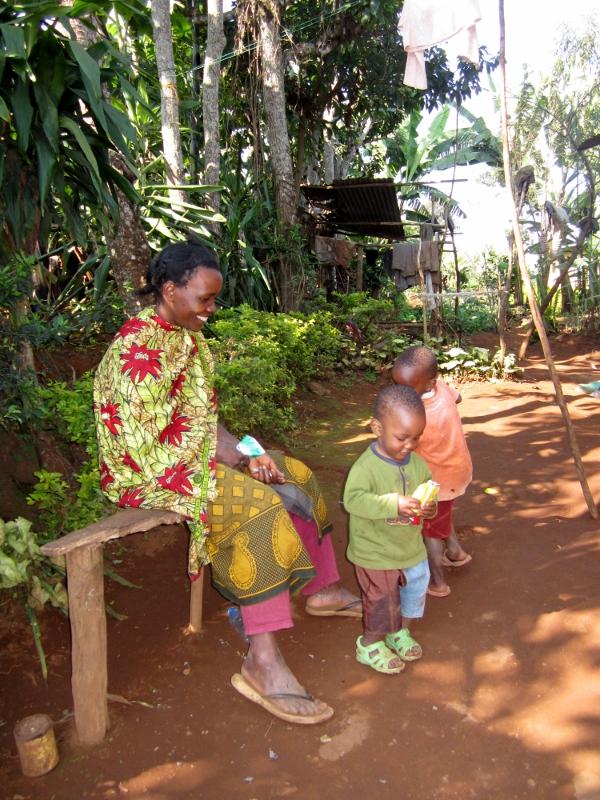 Tranquilidad en Marangu, a las faldas del Kilimanjaro. Por Pillareta