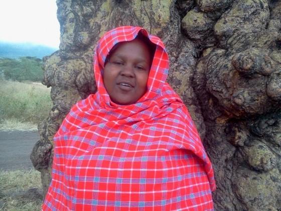 Colleta, la chica masai