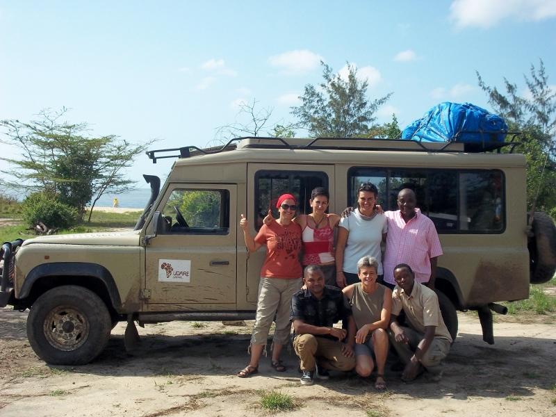 El equipo del safari al completo. Por Delia