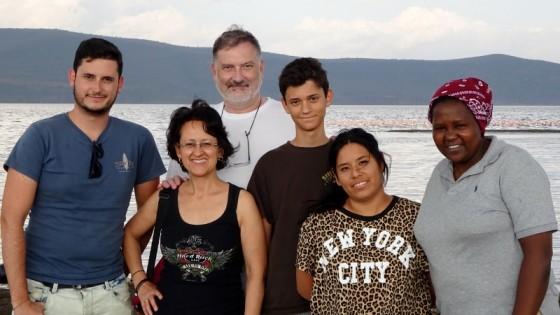 Safari en familia con Colleta. Por Miguel
