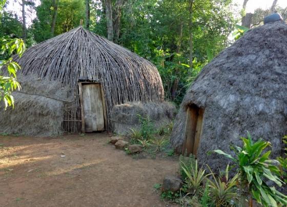 Reproducción de poblado chaga. Por Udare