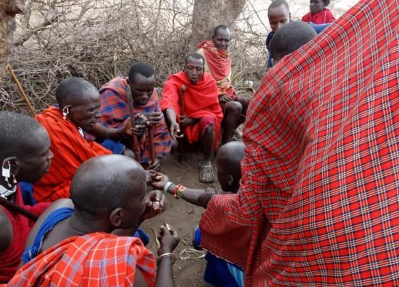Manta Masai. Por Udare