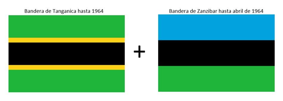 Unión Tanganica y Zanzibar en abril de 1964