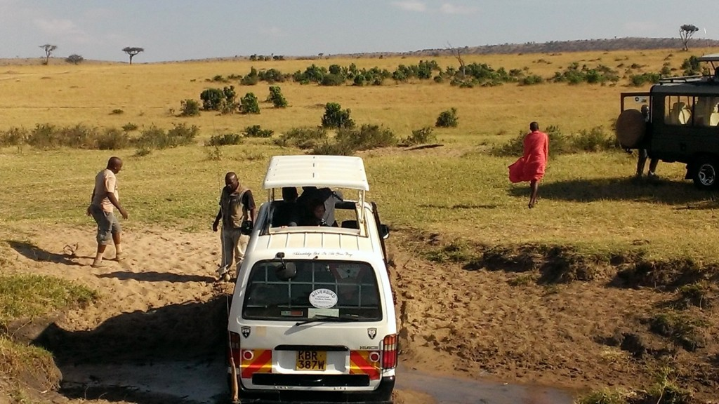 Safari en Masai Mara. Por Marta