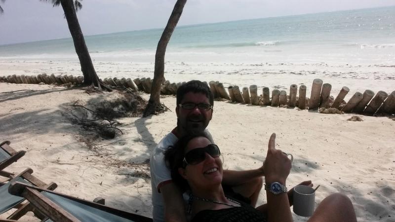 Rubén y Marta, viviendo pole pole. Por Rubén