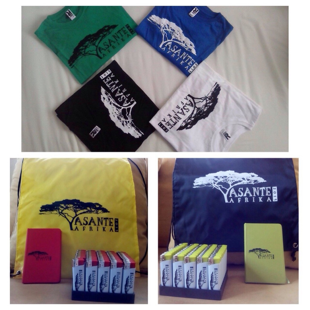 Merchandising Asante Africa 2015. Por Marta