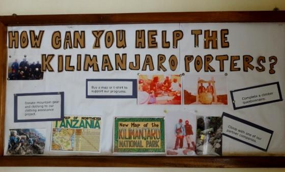 Kilimanjaro Porters Assistance Project. Por Udare