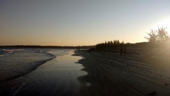 Pangani beach. Por Udare