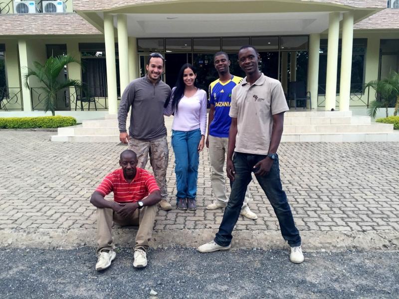 De regreso en Arusha. Por Mariana