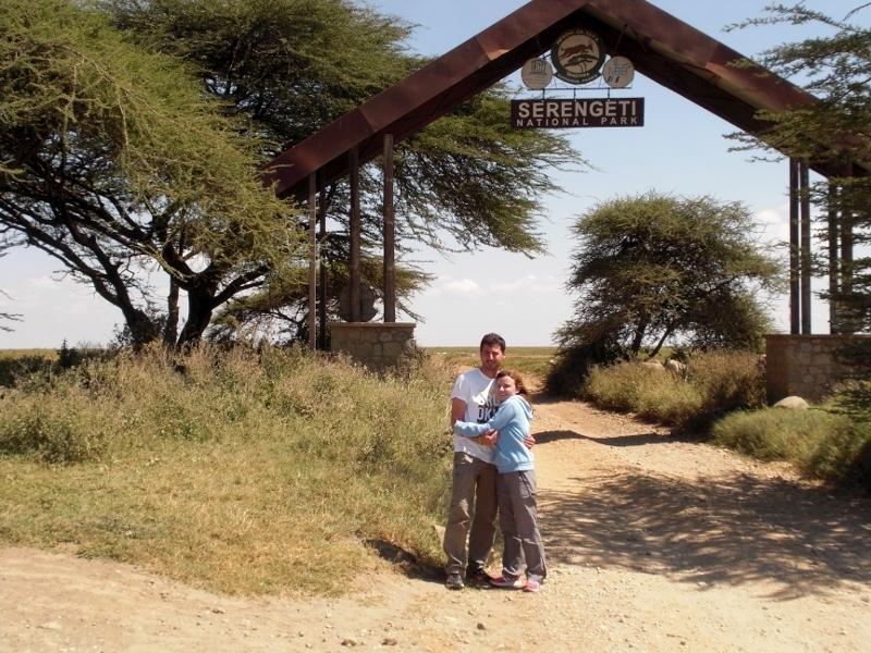 La puerta de Naabi, entrada principal a Serengeti. Por Pablo