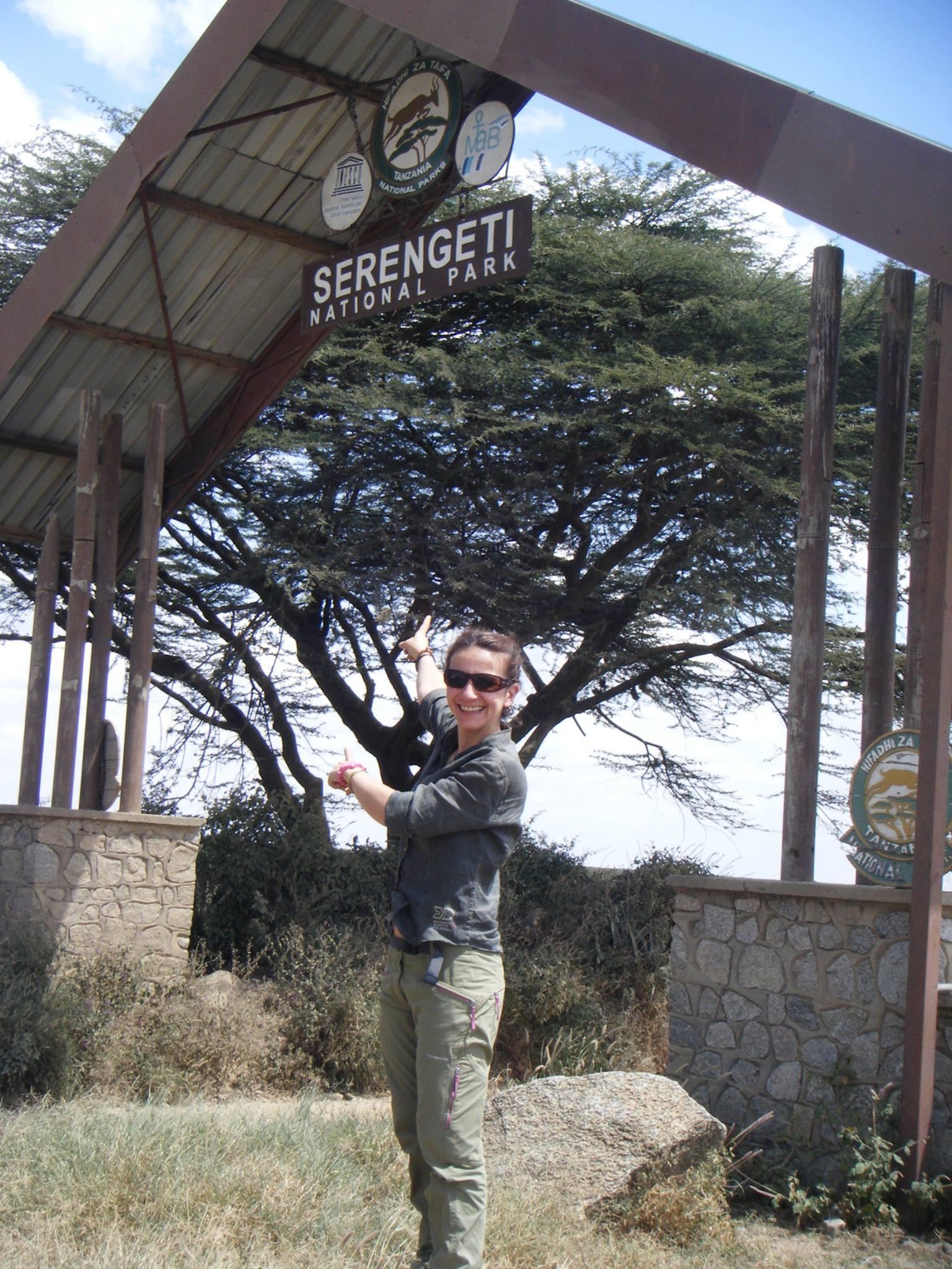 Junto a Ngorongoro, la entrada de Naabi de Serengeti. Por Carlos