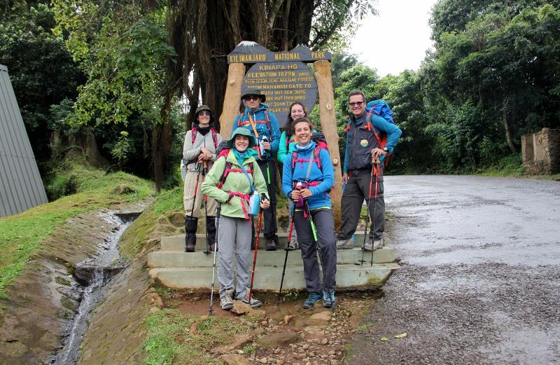 Iniciando el ascenso al Kilimanjaro. Por Jesús María