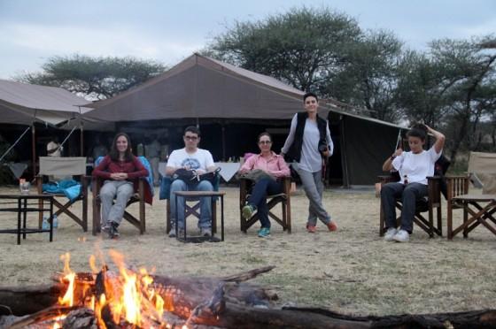 Una noche en Serengeti. Por Jesús María