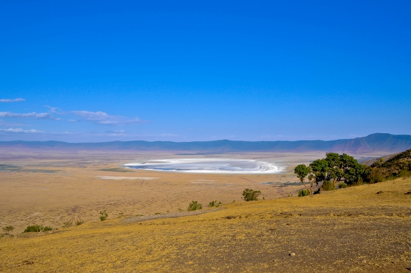 Panorámica de Ngorongoro. Por Jordi