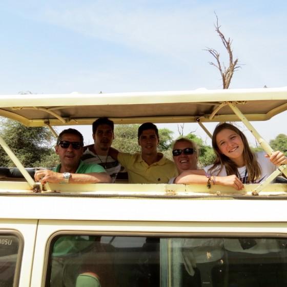 Un safari en familia. Por Charo