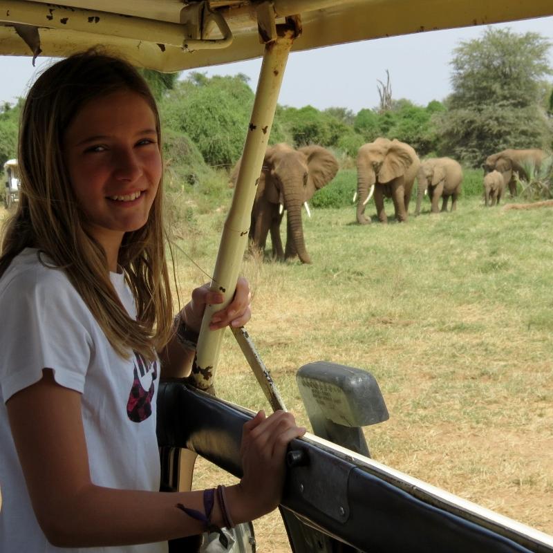 Las mejores vistas de un safari. Por Charo