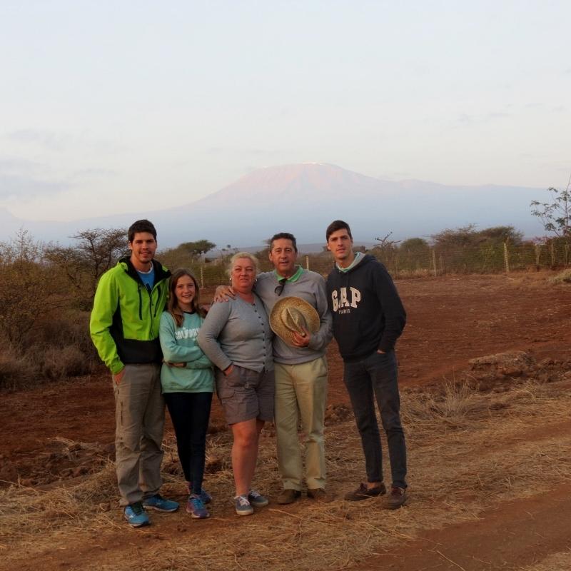 Vistas del Kilimanjaro desde Amboseli. Por Charo