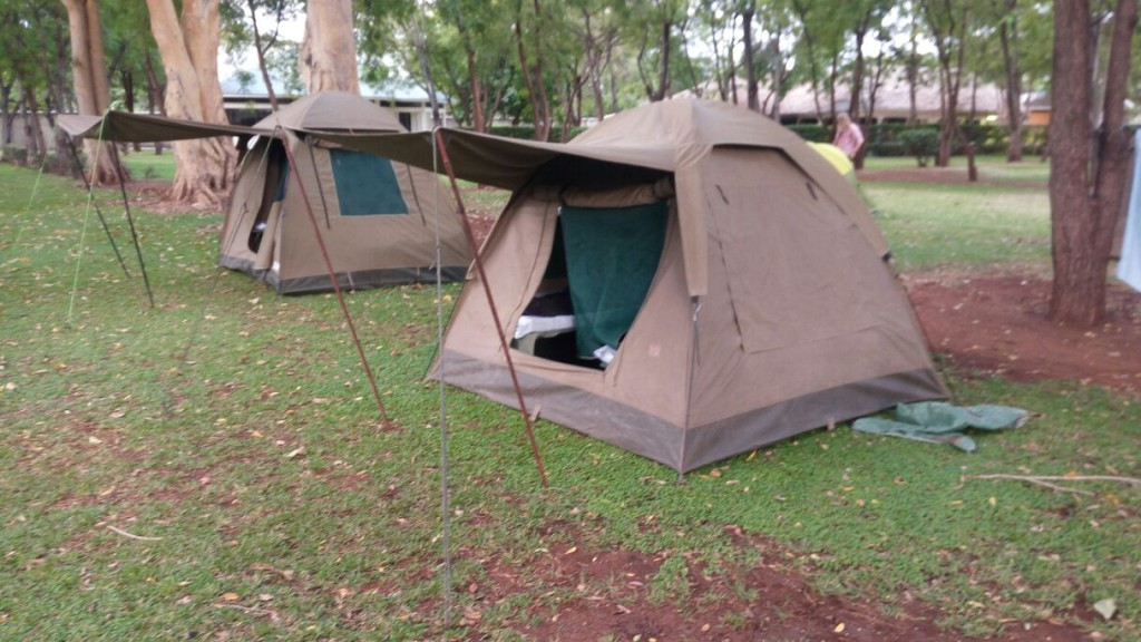 Campamento en Twiga. Por Gregory