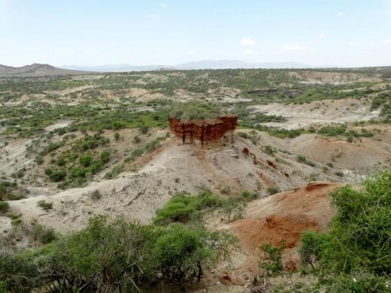 Garganta de Olduvai. Por Udare