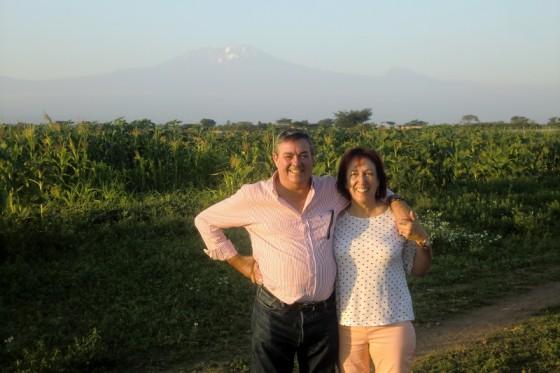 Vistas a Kilimanjaro. Por Roberto