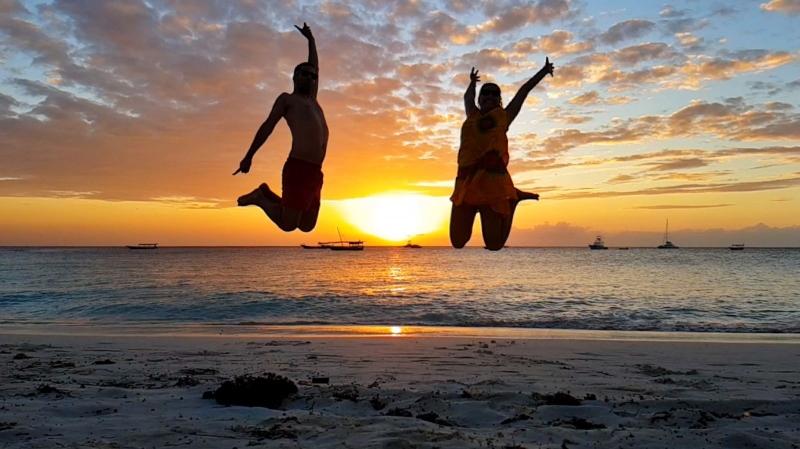 Puestas de sol en Zanzibar. Por Javier